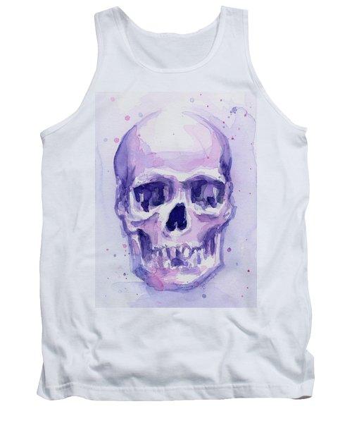 Purple Skull Tank Top