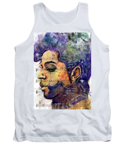 Purple Tears Tank Top