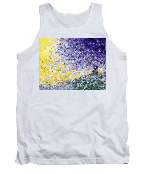 Purple Tree And The Afternoon Sun Tank Top