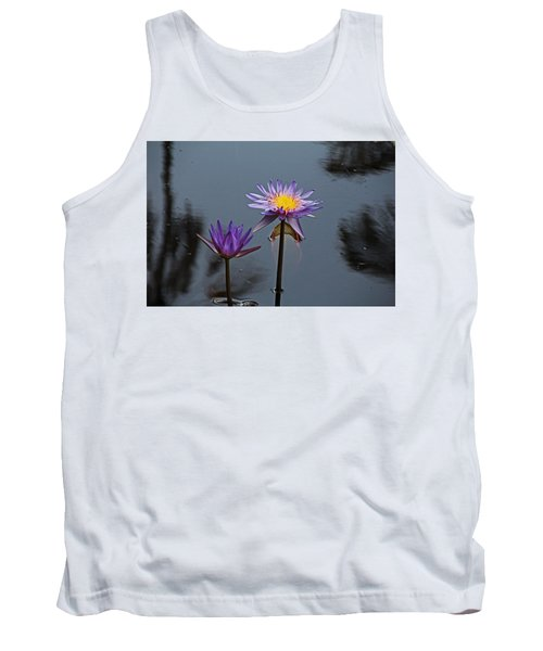 Purple Two-step Tank Top