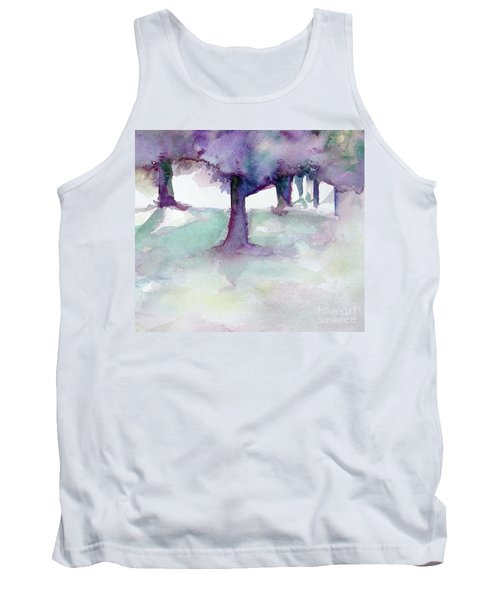 Purplescape II Tank Top by Jan Bennicoff