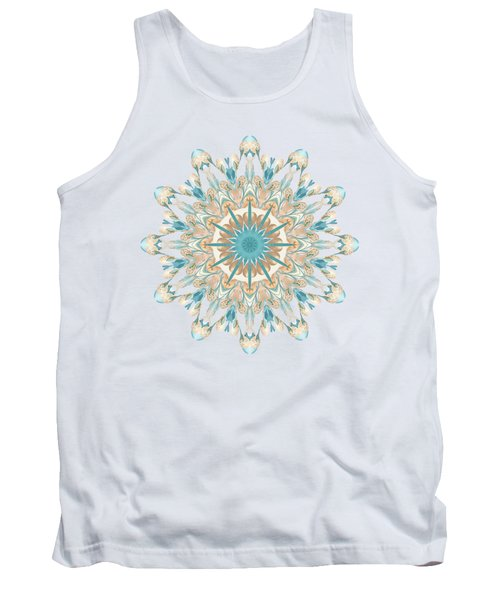 Pussy Willow Pattern Tank Top