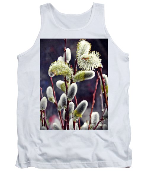 Pussy Willow Spring  Tank Top