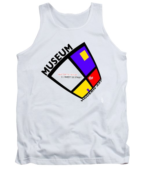 Putting On De Stijl Tank Top by Charles Stuart