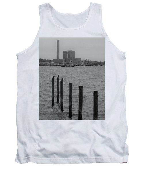 Tank Top featuring the photograph Q. River by John Scates