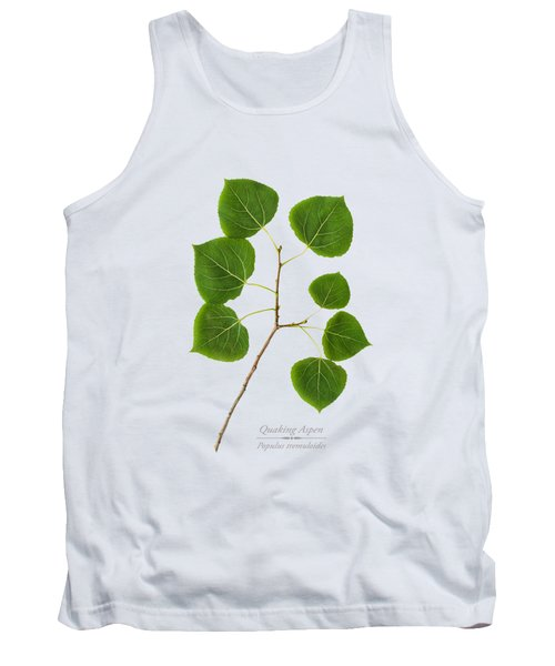 Tank Top featuring the photograph Quaking Aspen by Christina Rollo