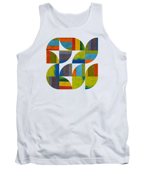 Quarter Rounds 4.0 Tank Top by Michelle Calkins
