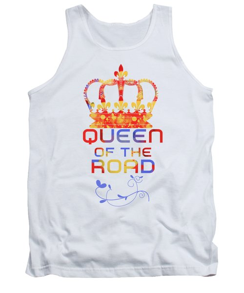 Queen Of The Road Tank Top by Pedro Cardona