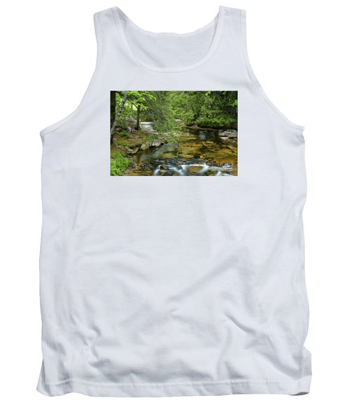 Quiet Place Tank Top by Alana Ranney
