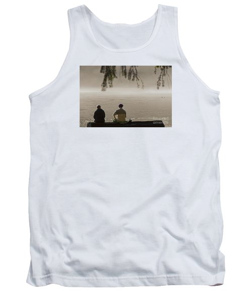 Tank Top featuring the photograph Quiet Time by Inge Riis McDonald