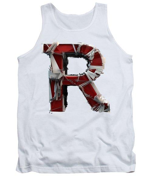 R Is Rock N Roll Tank Top