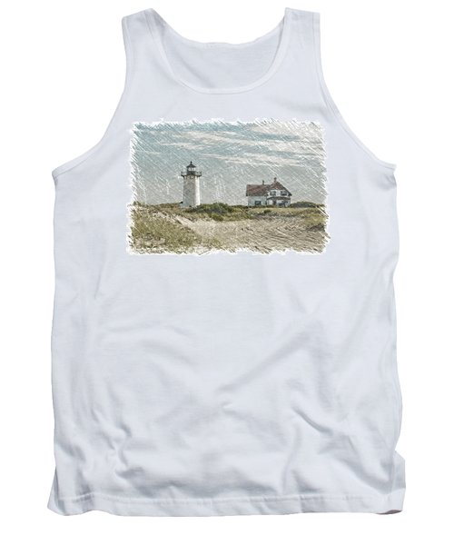 Tank Top featuring the photograph Race Point Lighthouse by Paul Miller