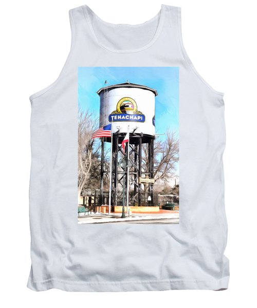 Tank Top featuring the photograph Railroad Park Tehachapi California by Floyd Snyder