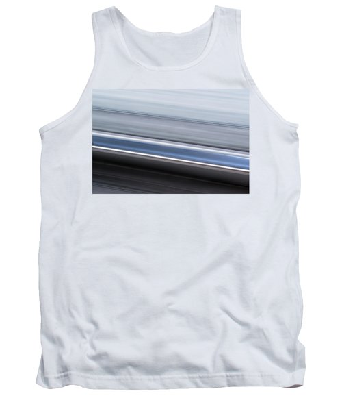 Tank Top featuring the photograph Railway Lines by John Williams