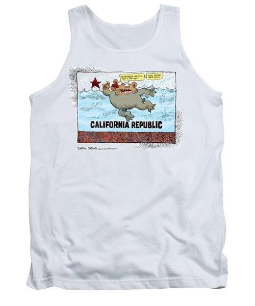 Rain And Drought In California Tank Top