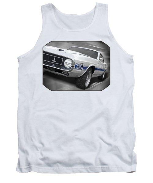 Rain Won't Spoil My Fun - 1969 Shelby Gt500 Mustang Tank Top