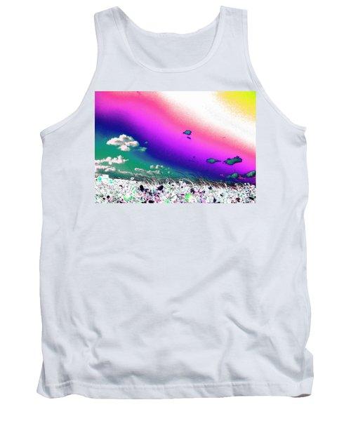 Rainbow Borealis Tank Top