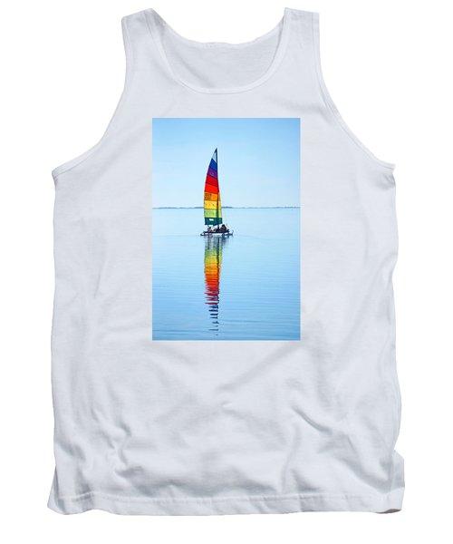 Rainbow Catamaran Tank Top