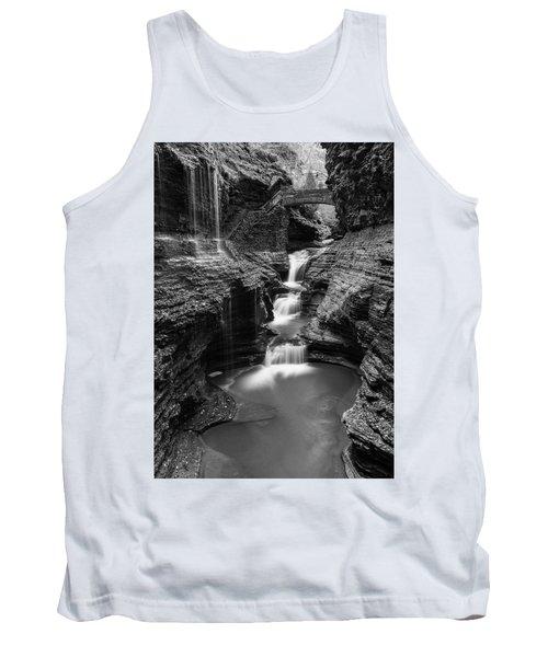 Rainbow Falls Gorge - Watkins Glen Tank Top