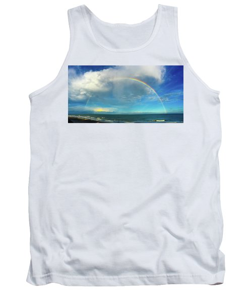 Rainbow Over Topsail Island Tank Top