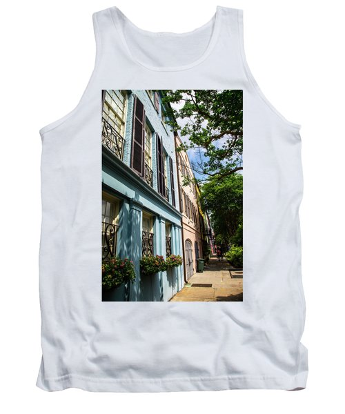 Tank Top featuring the photograph Rainbow Street by Karol Livote
