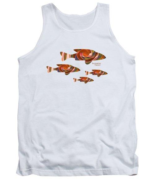 Rainbow Trout Tank Top