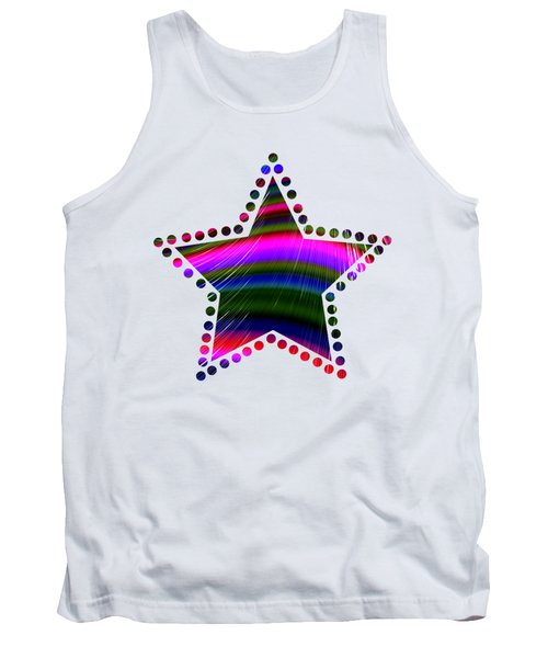 Rainbow Waves Tank Top