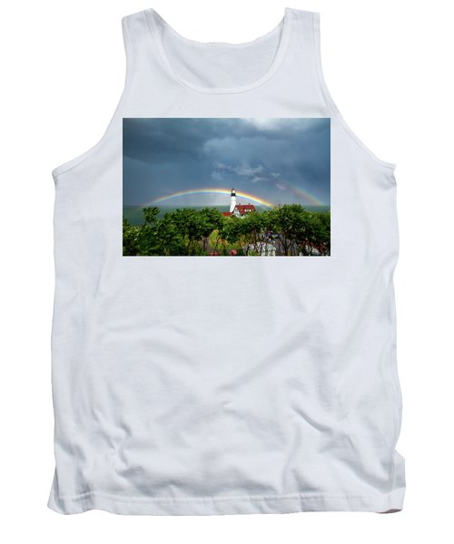Rainbow X 2 At Portland Headlight Tank Top