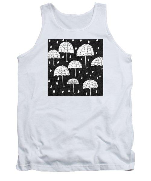Raindrops Tank Top by Lou Belcher