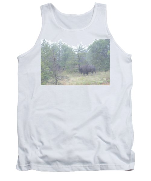Rainy Day For The Bison Tank Top