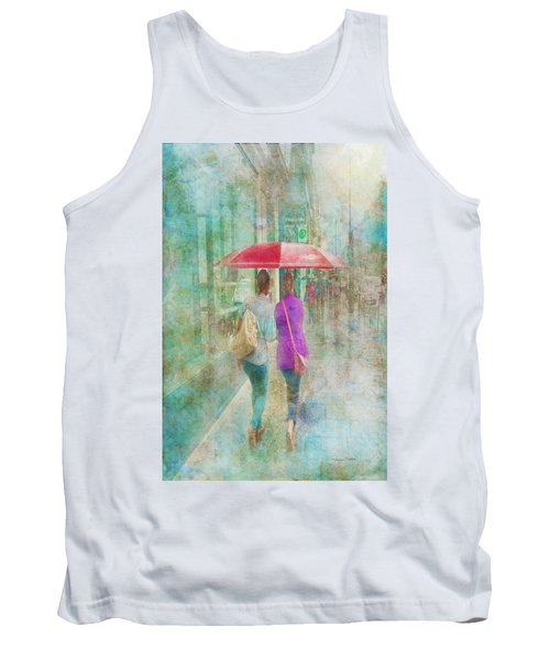 Rainy In Paris 1 Tank Top