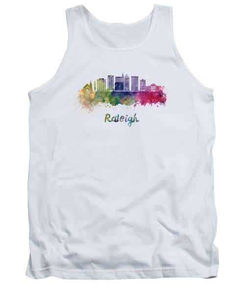Raleigh V2 Skyline In Watercolor Tank Top