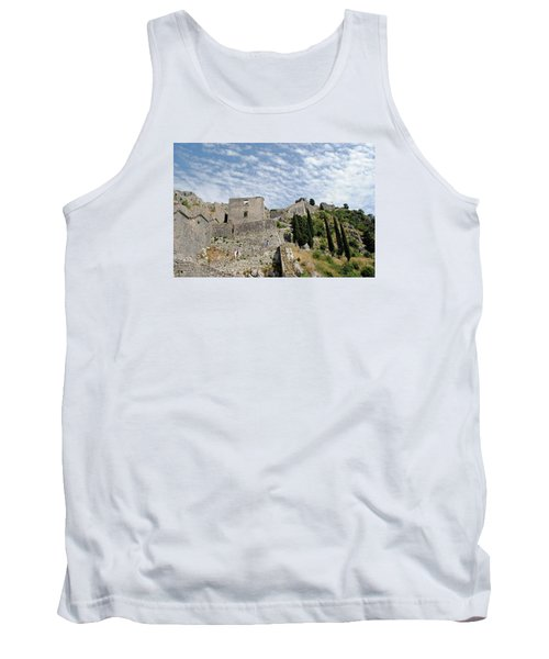 Tank Top featuring the photograph Ramparts Of Montenegro by Robert Moss