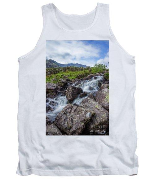 Rapids Of Snowdonia Tank Top by Ian Mitchell