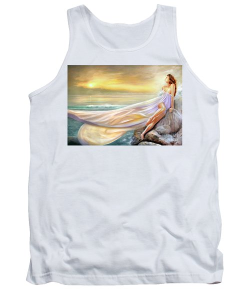 Rapture In Midst Of The Sea Tank Top by Michael Rock