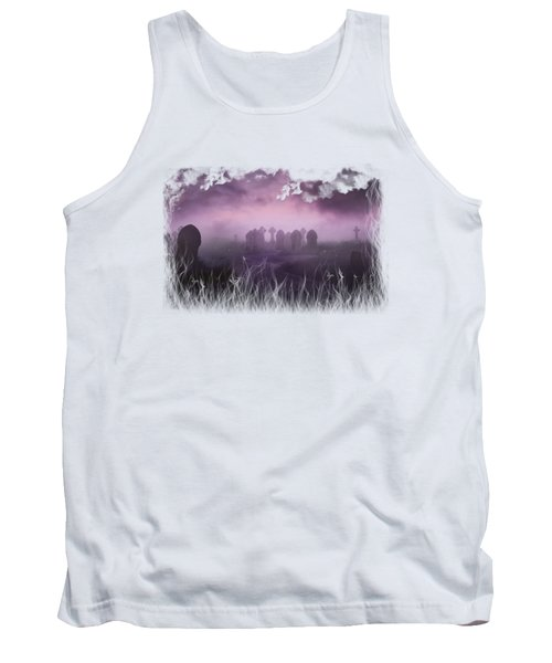 Rave In The Grave On Transparent Background Tank Top by Terri Waters