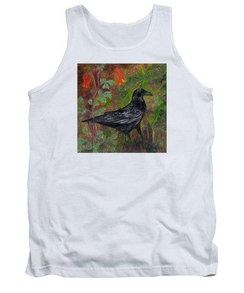 Raven In Columbine Tank Top