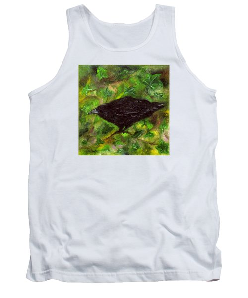 Raven In Ivy Tank Top by FT McKinstry