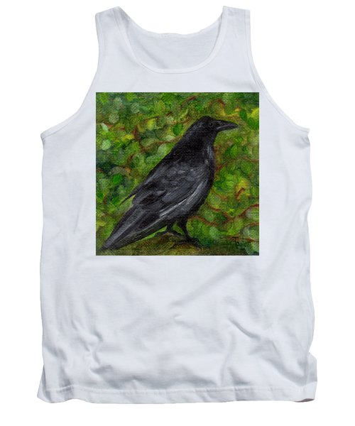 Raven In Wirevine Tank Top