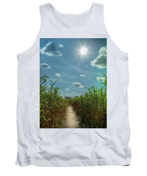 Tank Top featuring the photograph Rays Of Hope by Karen Wiles