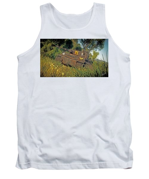 Ready And Waiting Tank Top