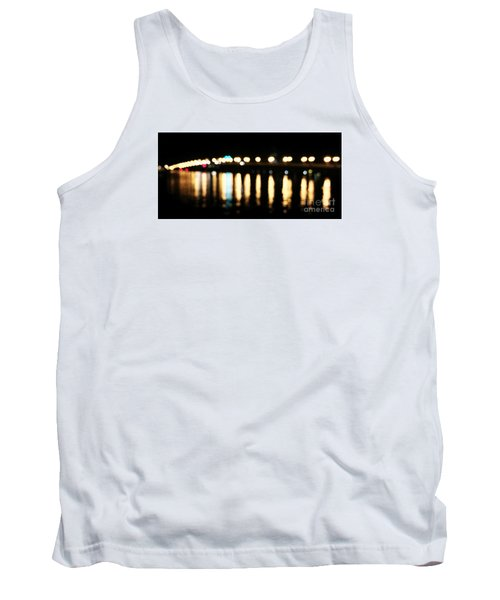 Bridge Of Lions -  Old City Lights Tank Top by LeeAnn Kendall
