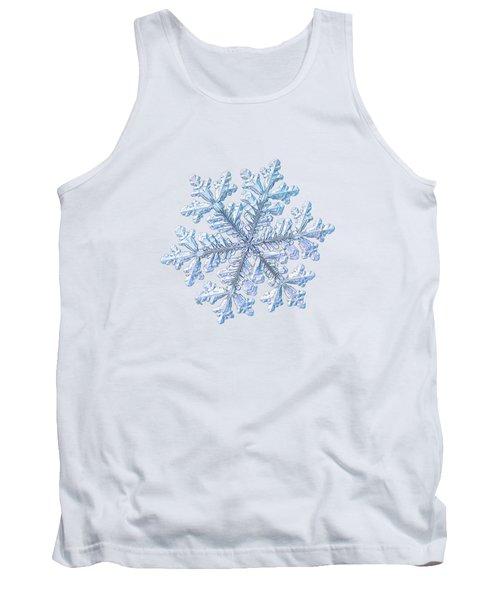 Real Snowflake - Hyperion White Tank Top