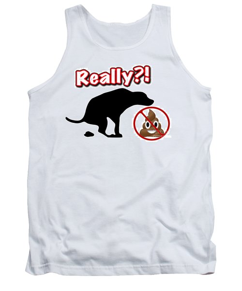 Really No Poop Tank Top