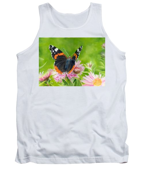 Red Admiral Tank Top