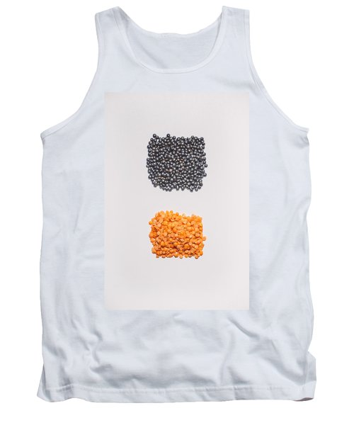 Red And Black Lentils Tank Top