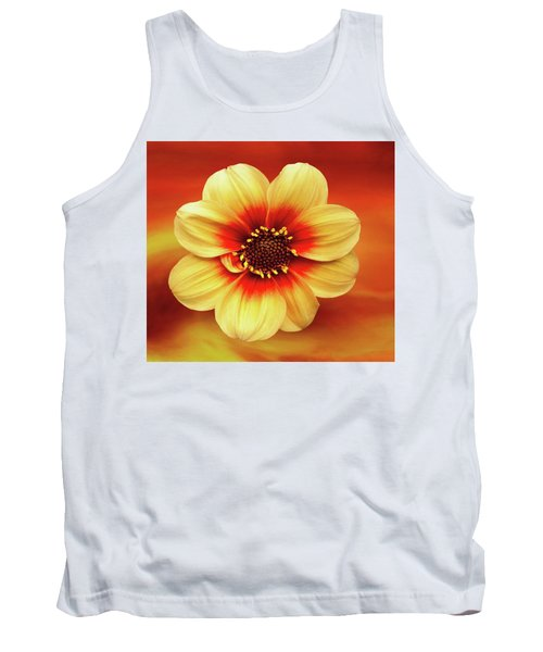 Red And Yellow Inspiration Tank Top