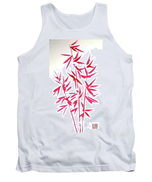 Red Bamboo Tank Top