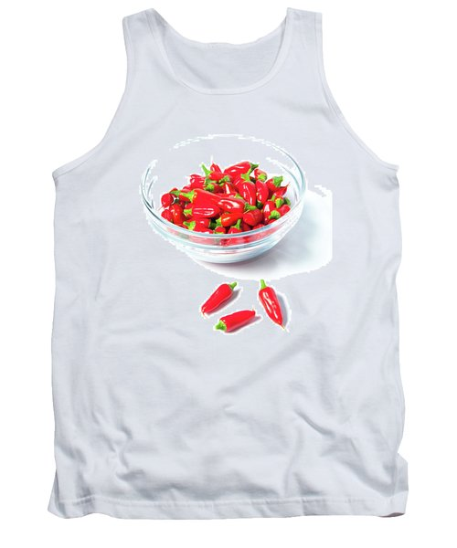 Red Chillies In A Bowl II Tank Top