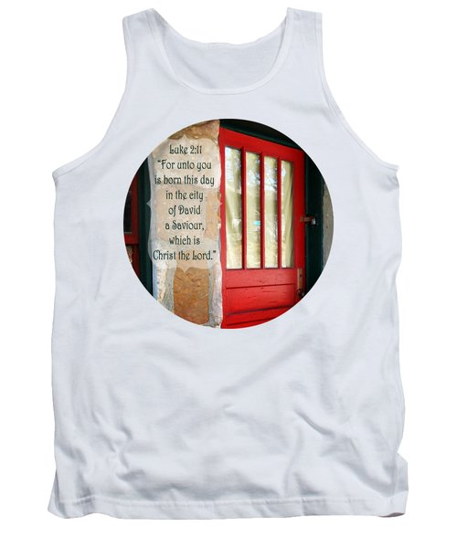 Red Door - Verse Tank Top